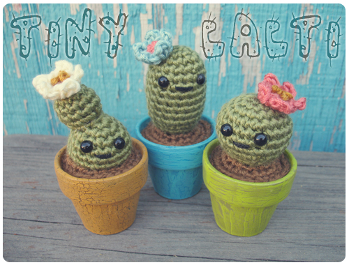 Free Crochet Pattern for a Cactus Amigurumi ⋆ Crochet Kingdom | 380x500
