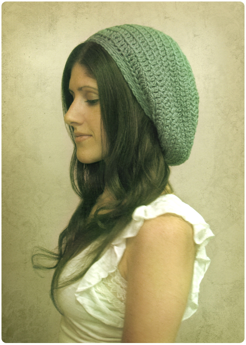 Free Crochet Hat Patterns : Free Crochet Pattern: Gumdrop Slouchy Hat Gleeful Things