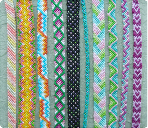friendship bracelet instructions with pictures