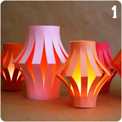 Tutorial round up paper lanterns for How to make paper lanterns easy