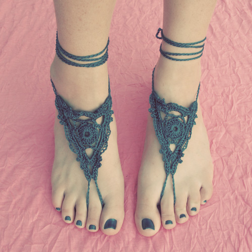 Wip Beaded Barefoot Sandals