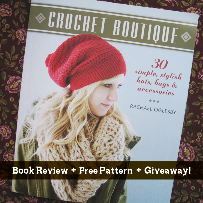 Free Crochet Books : Crochet Boutique: Book Review + Free Pattern + Giveaway!
