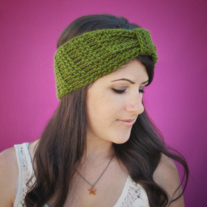 Free Crochet Pattern: October Nights Headband