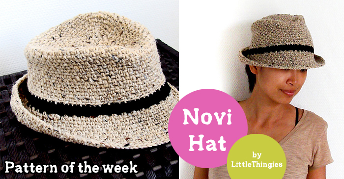 Pattern Of The Week Novi Hat