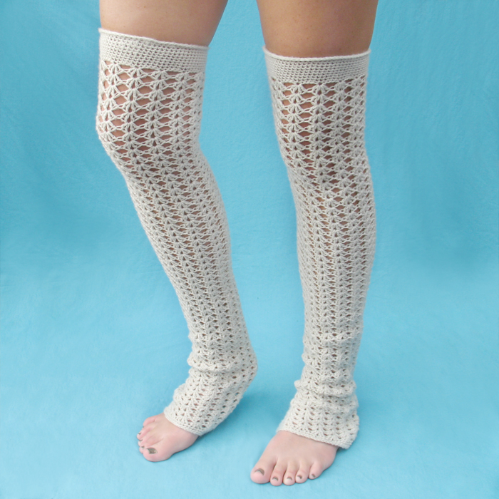 New Crochet Pattern: Swell Leg Warmers