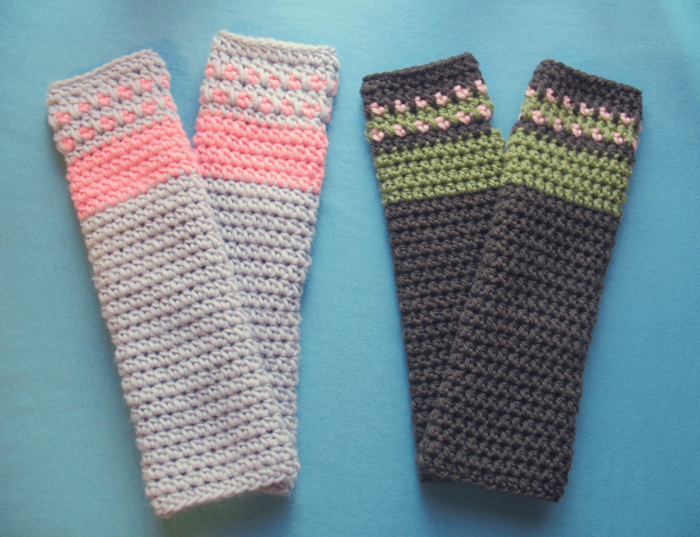 Work In Progress: Crochet Arm Warmers