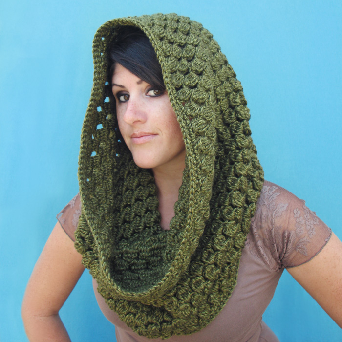 Pinecone Cowl Infinity Scarf Crochet Pattern Custom Crochet Infinity Scarf Pattern In The Round