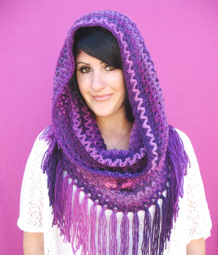 Free Crochet Pattern For A Cowl : Free Crochet Pattern: Mountains Cowl