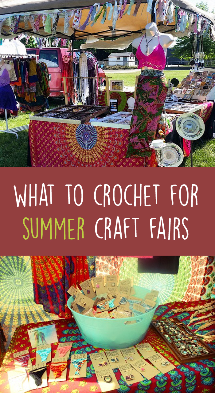 What To Crochet For Summer Craft Fairs