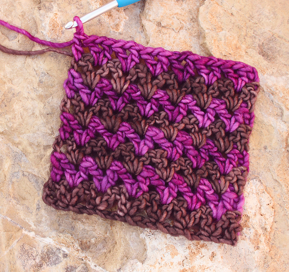 V Stitch Easy Crochet Video Tutorial